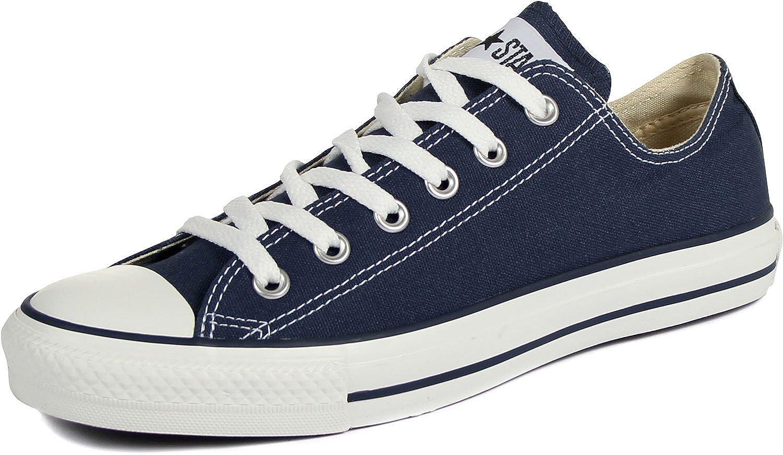 Converse Men's Low Chuck Taylor Canvas Sneaker (Navy)