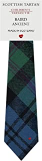 Boys Clan Tie All Wool Woven in Scotland Baird Ancient Tartan