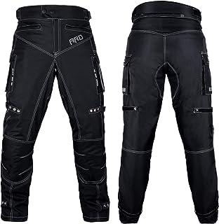 ARD Motorcycle Pants Men Biker Dual sport Motorbike Waterproof, Windproof Riding Pants All-Weather, Removable CE Armored (Waist 36``- Inseam 34``)