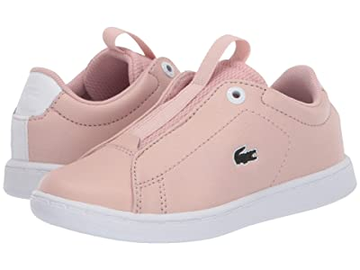 Lacoste Kids Carnaby Evo Easy 120 1 SUI (Toddler/Little Kid) (Natural/White) Kid