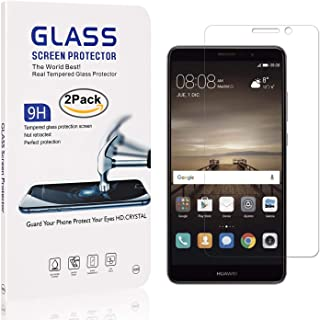 3 Pack Fingerprint Proof Anti Scratch Bear Village Screen Protector for Huawei Y3 2017 HD Tempered Glass Screen Protector Film for Huawei Y3 2017