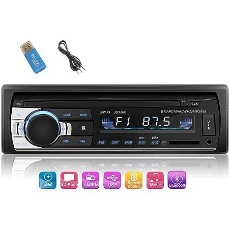 Iwalker Autoradio Mit Bluetooth Freisprecheinrichtung Elektronik