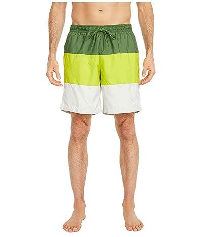 Nike NSW Shorts Woven Novelty (Treeline/Bright Cactus/Light Bone/White) Men