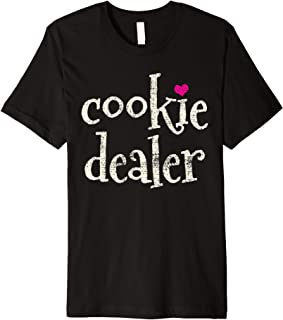 Scout Cookie Dealer Scout Leader Gift Premium T-Shirt