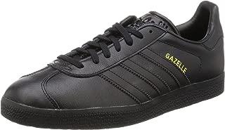 Gazelle Unisex Trainers Black Gold - 4 UK