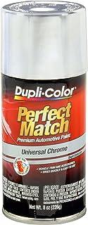 Best Dupli-Color EBUN02007 Universal Chrome Perfect Match Automotive Paint - 8 oz. Aerosol Reviews