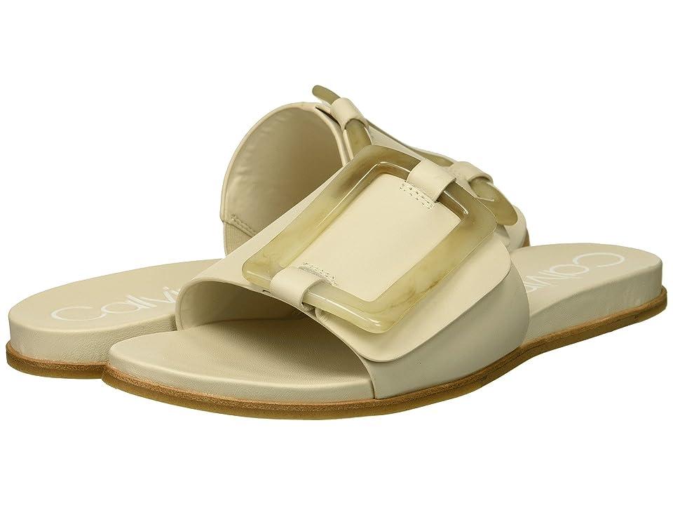 Calvin Klein Patreece Sandal (Soft White) Women