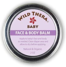 Wild Thera Multipurpose Baby Balm. Baby Lotion Eczema therapy. Natural, Organic Eczema cream for kids. Eczema ointment for toddlers. Herbal cortisone eczema cream.