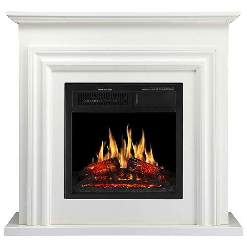 Corner Fireplace Mantels Amazon Com