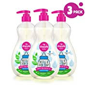 DAPPLE Baby Bottle and Dish Liquid, Fragrance Free Dish Soap, Plant Based, Hypoallergenic, 16.9 Fluid Ounces (Pack of 3)