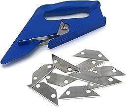 Carpet fitting cutter Loop Pile Blue Felt Carpet Cutter