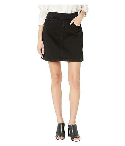 Jag Jeans Petite Petite On The Go Skort (Black Void) Women