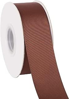 Berwick Offray 1.5 Wide Rustic Saddle Polyester Ribbon Orange 4 Yards