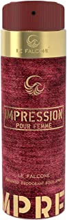 Le Falcone Impression Perfumed Spray for Women, 200 ml