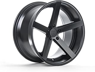 Rohana Wheels RC22 Black Wheel with Painted Finish (20 x 10. inches /5 x 112 mm, 33 mm Offset)