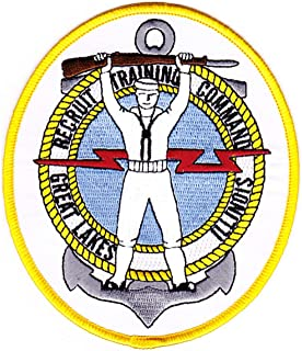 Recruit Training Command Great Lakes Illinois Sailor Patch (4.25