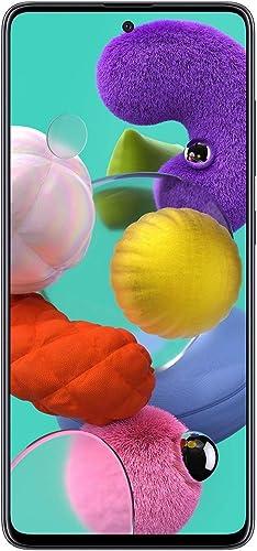 Samsung Galaxy A51 Factory Unlocked Cell Phone | 128GB of Storage | Long Lasting Battery | Single SIM | GSM or CDMA C...