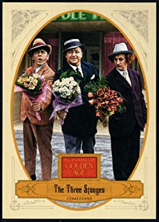 Baseball MLB 2012 Panini Golden Age #57 The Three Stooges