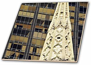 3dRose ct_10262_1 Pictured Abstract Pics on Fifth Avenue-Ceramic Tile, 4-Inch