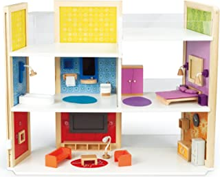 Hape Wooden Doll House DIY Dream Doll Kid's Play Set