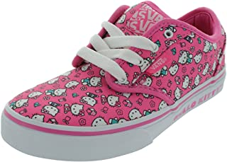 Vans Atwood Girls Sizes Pink Hello Kitty Shoes