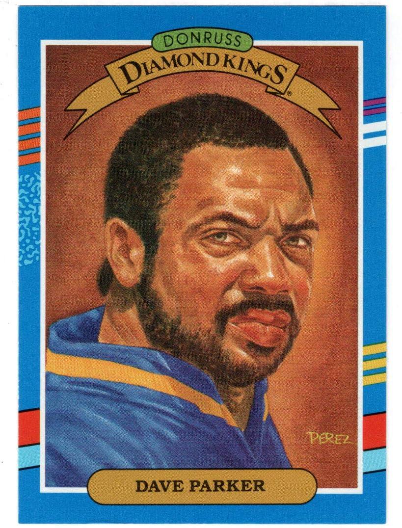 Dave Super sale period limited Fashion Parker - Milwaukee Brewers Baseball Card Kings Diamond