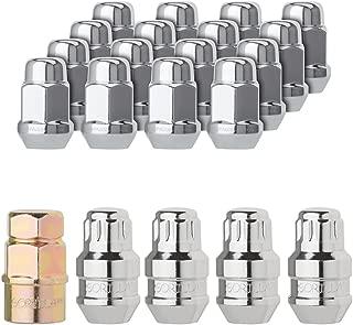 DPAccessories LCB3B2HC2CH04KT5 5-Lug Chrome Wheel Installation Kit - 16 Lug Nuts - 4 Locks - 1/2