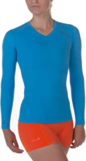 Sub Sports Womens Long Sleeve Compression Top Running Vest Moisture Wicking