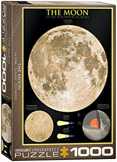 Eurographics 1000pcs - The Moon