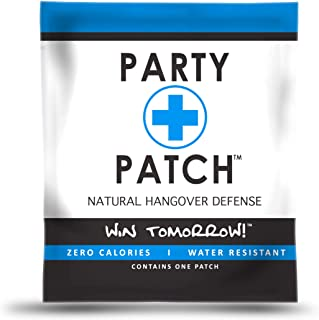 Party Patch Hangover Defense Topical Patch, Pack of 24