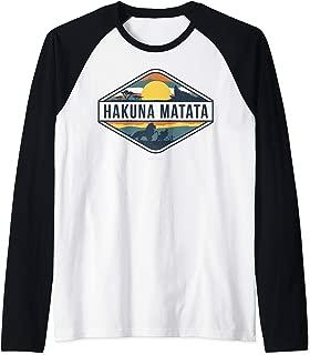 The Lion King Hakuna Matata Diamond Logo Raglan Baseball Tee