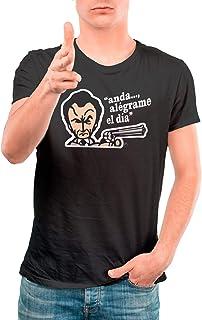 DibuNaif Camiseta Cine Hombre - Unisex Harry el Sucio, Clint Eastwood