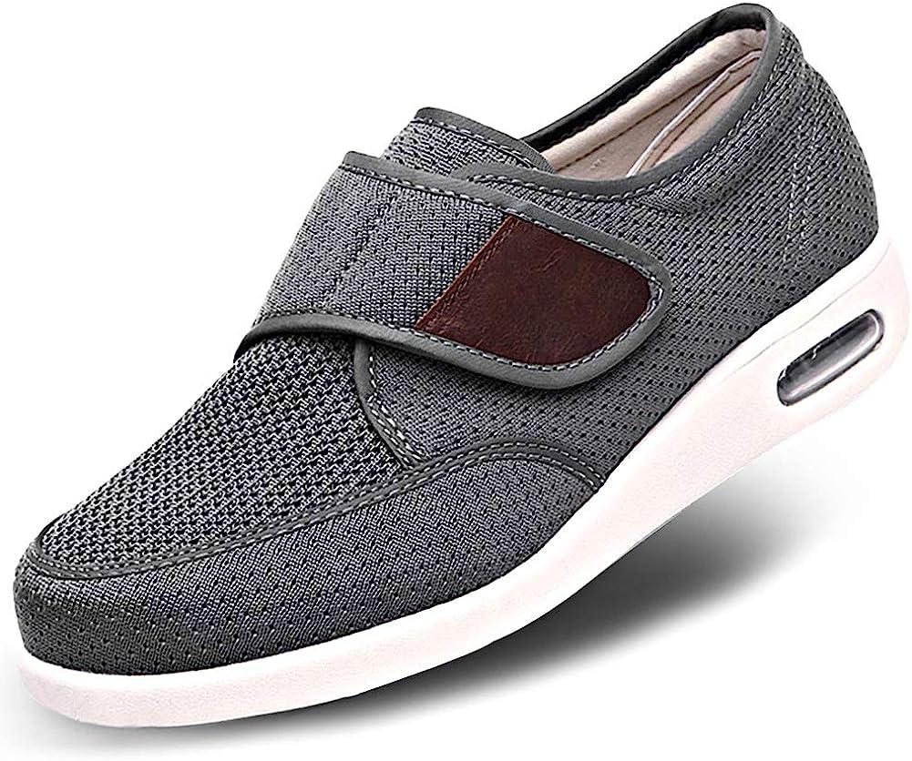 Orthoshoes Mens Diabetic Edema Shoes Dedication Walking Lightweight Max 41% OFF Mesh Br