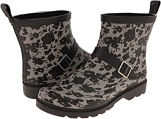 Ladies Short, Sporty, Lined Rainboots