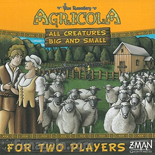 F2Z Entertainment ZMG70970 - Brettspiele, Agricola, All Creatures Big and Small