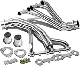 For Chevy/GMC C/K-Series Small Block V8 2pcs Stainless Steel Header/Exhaust Manifold (Polished)