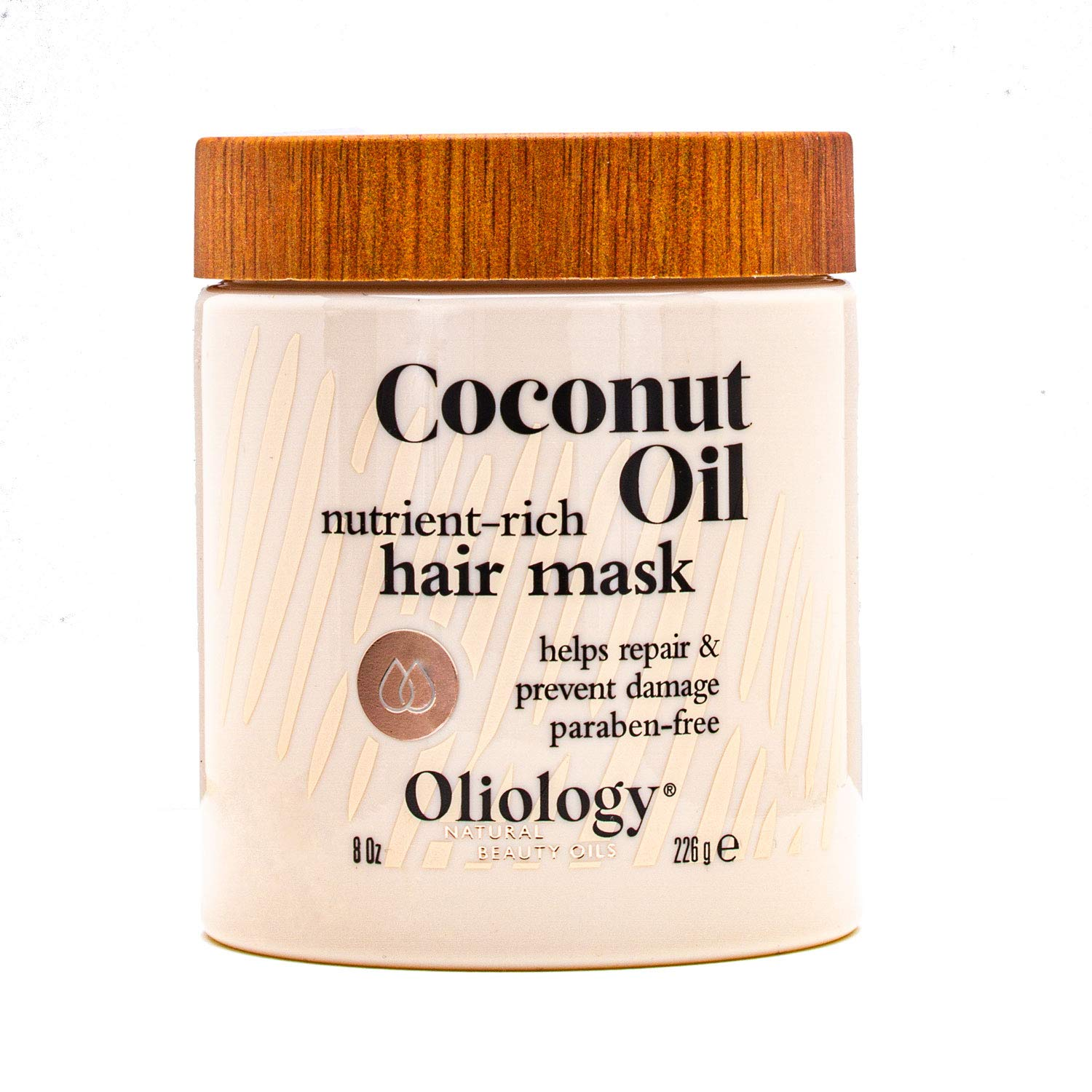 Oliology Coconut Oil Hair quality assurance Mask Max 60% OFF Restore Damaged Helps Repair -