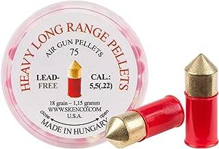 Skenco Heavy Long-Range .22 Cal, 16.7 Grains, Pointed, Lead-Free, 90ct
