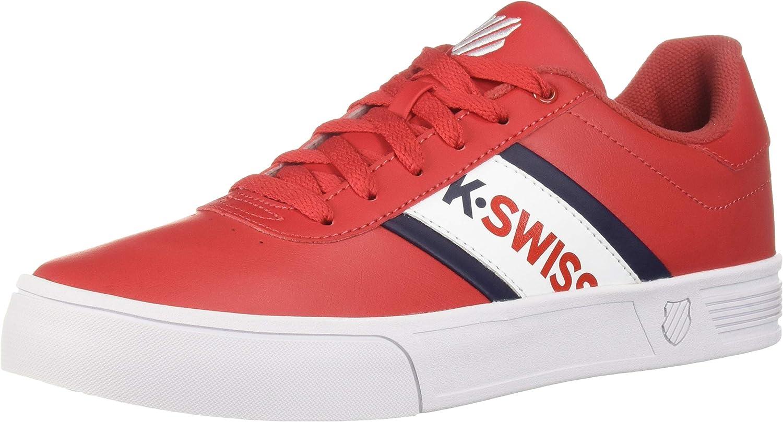 KSwiss Mens Court Lite Spellout Sneaker