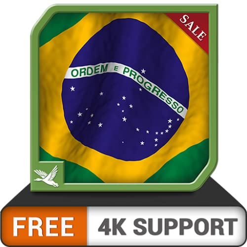 Impresionante bandera brasileña gratis: una aplicación perfecta para celebrar el día nacional...