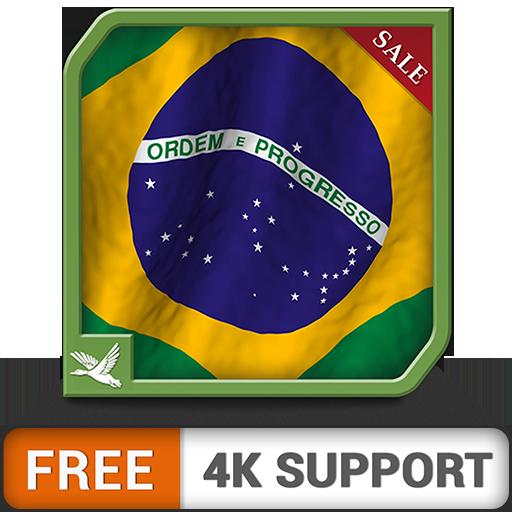 génial drapeau brésilien gratuit - une application parfaite pour célébrer la fête nationale et l'indépendance du brésil sur votre téléviseur hdr 8k 4k et vos appareils de pompiers comme fond d'écran e
