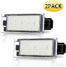 Audew Numero Matricula Licencia LED Luz Auto 12V
