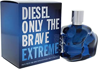 Diesel Only The Brave Extreme for Men, 2.5 oz EDT Spray