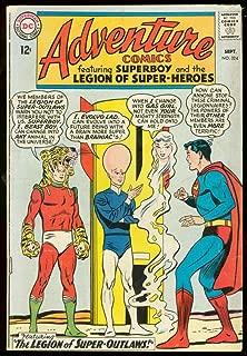 ADVENTURE COMICS #324-SUPERBOY- SUPER-OUTLAWS TIGER -very good VG