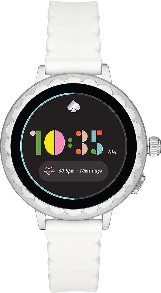 成人期厚さアンペア[ケイト?スペード ニューヨーク]kate spade new york 腕時計 scallop smartwatch2? KST2011 レディース 【正規輸入品】