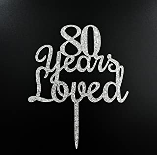 Best 80 year birthday cake ideas Reviews