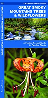 Great Smoky Mountains Trees & Wildflowers: A Folding Pocket Guide to Familiar Plants (Wildlife and Nature Identification)