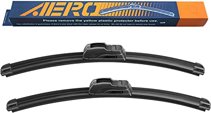 "OEM QUALITY 19"" + 19"" AERO Premium All-Season Windshield Wiper Blades (Set of 2)"