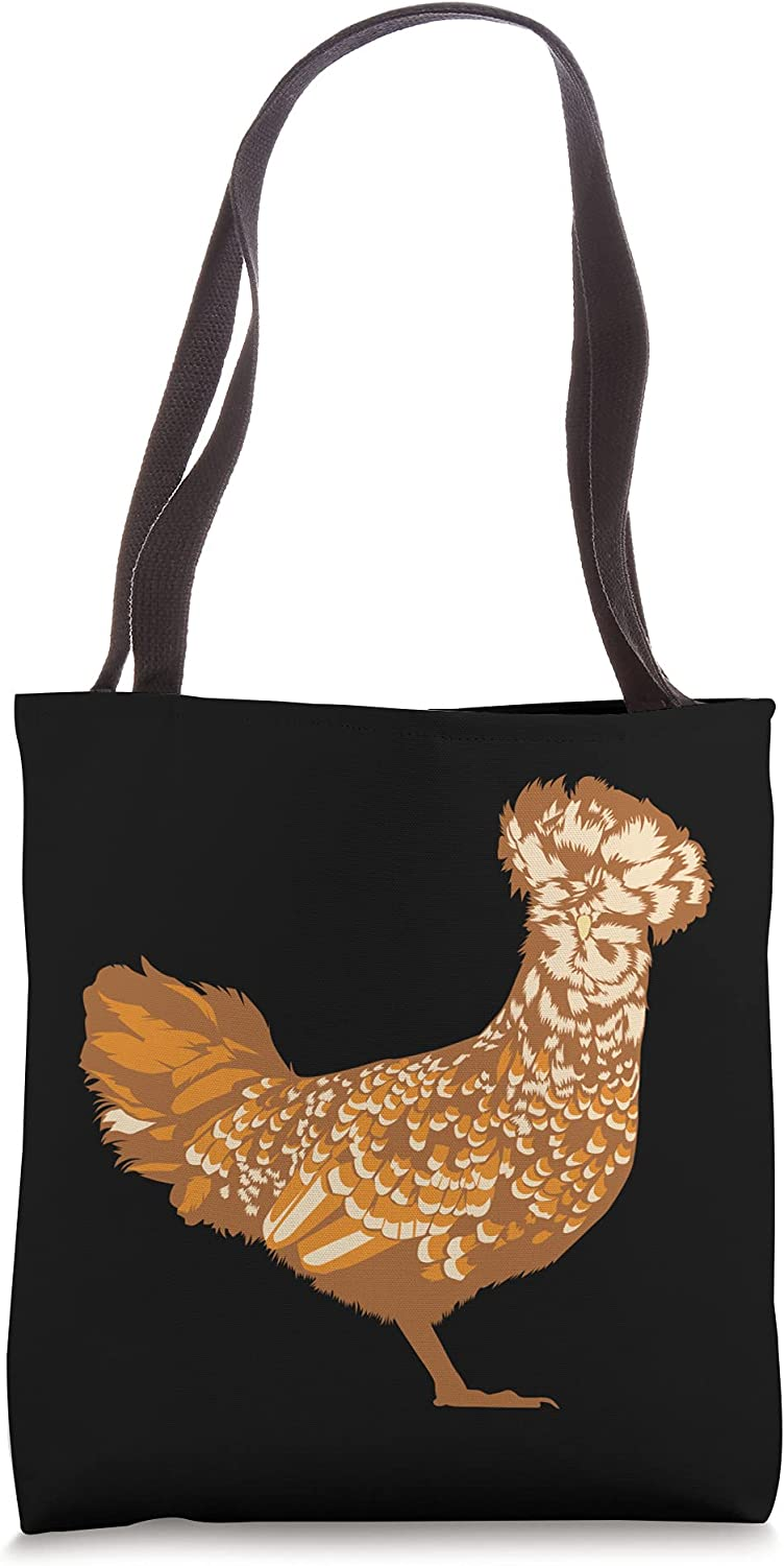 Drawing of a Polish Chicken Tote Bag