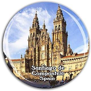 Weekino Catedral de Santiago de Compostela España Imán de